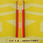 Dây diện CV1.5 cadivi